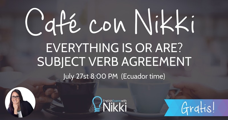 Common Spanish Speaker Mistakes With Subject Verb Agreement