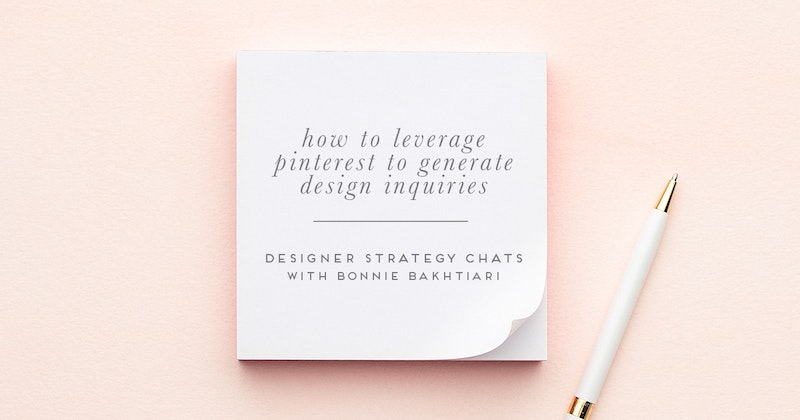 I'm not using Pinterest for my business yet  I have a