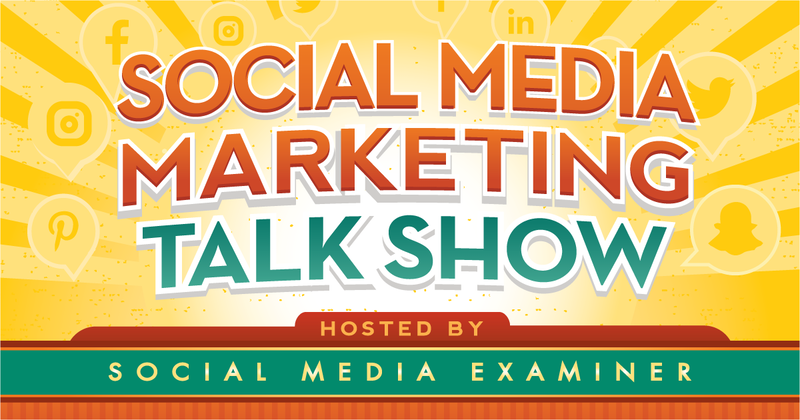 f7d5bd554861 Join Erik Fisher and Kim Reynolds live for the Social Media Marketing Talk  Show as we explore Facebook rolling out Watch Party to all Facebook groups