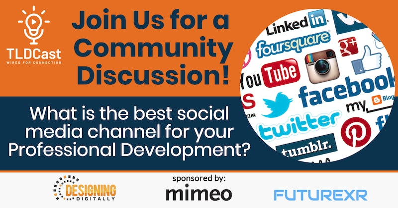 Tldcast Community Discussion Social Media For Career Development Crowdcast