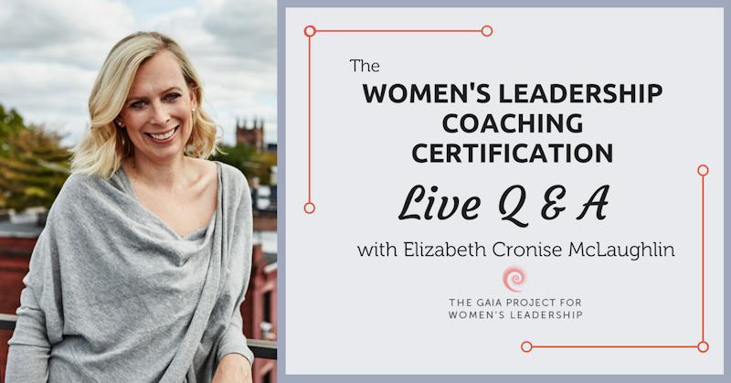 Womens Leadership Coaching Certification Qa Crowdcast