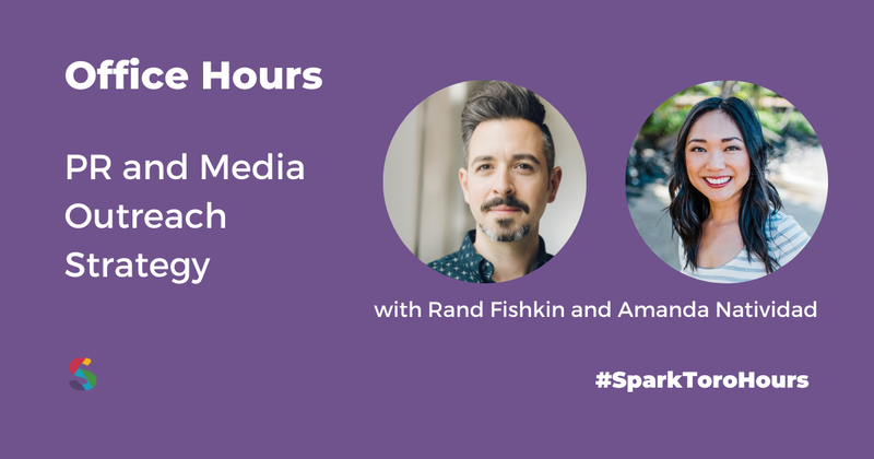 SparkToro Office Hours - Crowdcast